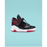 Kids Converse Erx 260 Shoes Black/Red/Dark Grey 007UGNDG