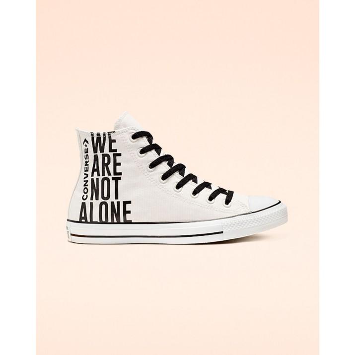 Mens Converse Chuck Taylor All Star Shoes Black/White 013DGRFY