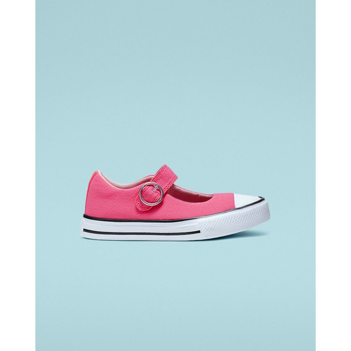 Converse Chuck Taylor All Star Kids Shoes Pink/Black/White 017PUUKF