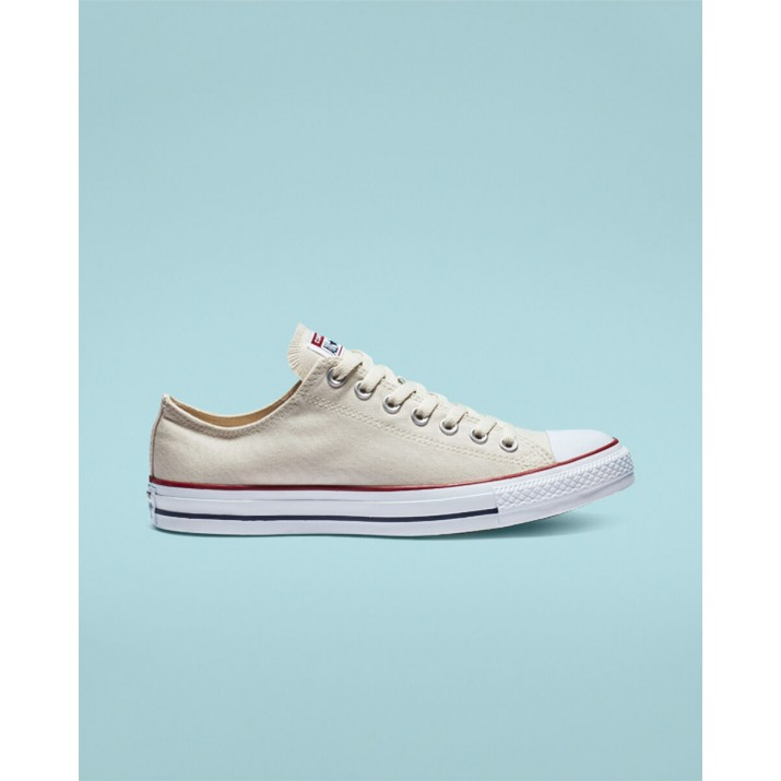 Womens Converse Chuck Taylor All Star Shoes Beige White 055GMTXV