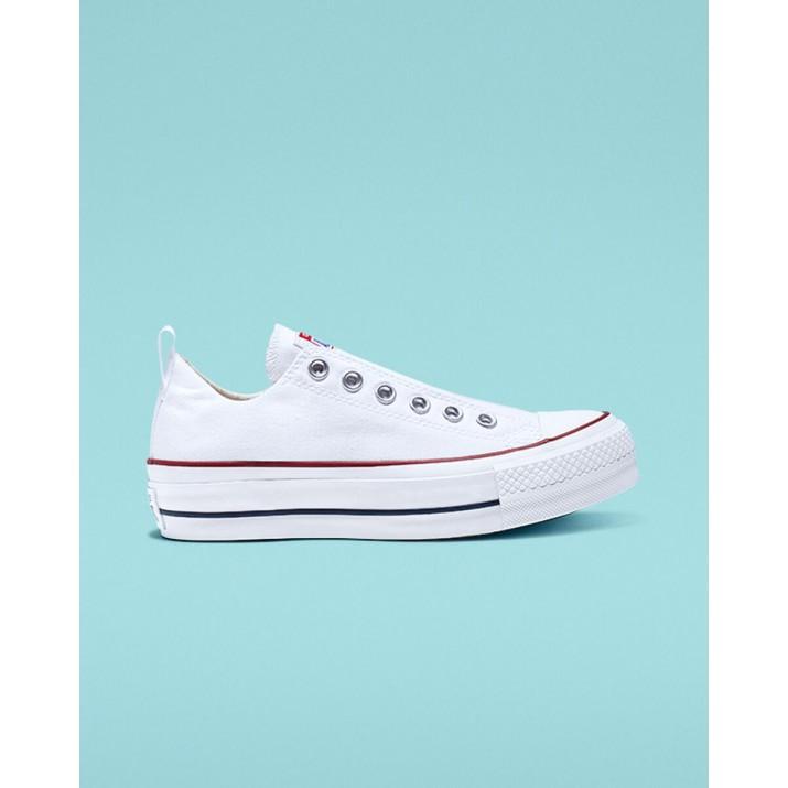 Womens Converse Chuck Taylor All Star Shoes White/Red/Blue 067NSXBI