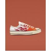 Zapatillas Converse Chuck 70 Mujer Blancas/Rojas 089ZFOIU