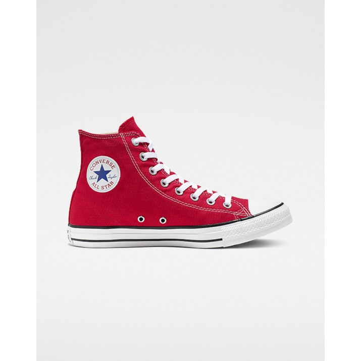 Womens Converse Chuck Taylor All Star Shoes Red 100NMIXU