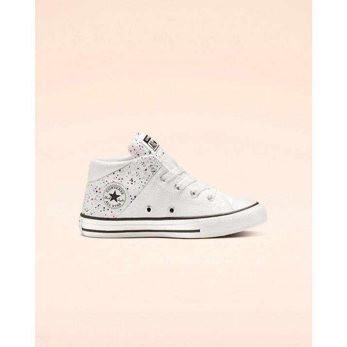 Kids Converse Chuck Taylor All Star Shoes White/Pink/Black 108XNQUQ