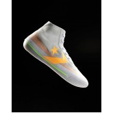 Mens Converse All Star Pro Basketball Shoes White/Orange 137IVKMY