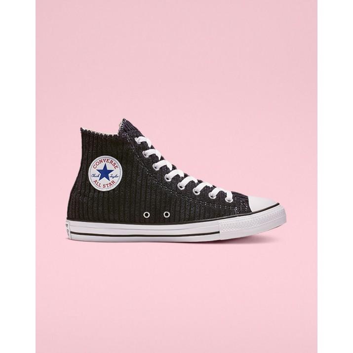 Mens Converse Chuck Taylor All Star Shoes Dark Obsidian/White/Black 145LPEXT