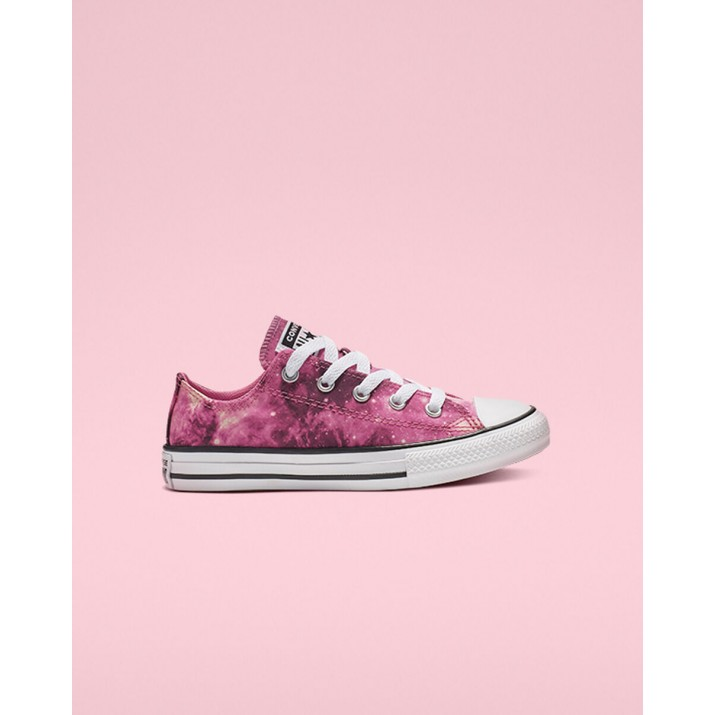 Kids Converse Chuck Taylor All Star Shoes Dark Burgundy/Pink/White 209FAZTO