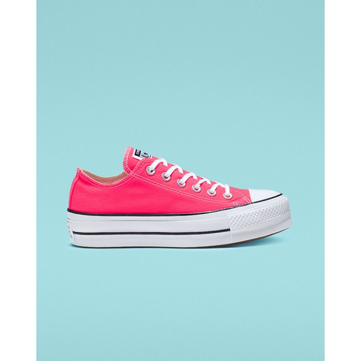 Womens Converse Chuck Taylor All Star Shoes Pink/White/Black 209JDZFC