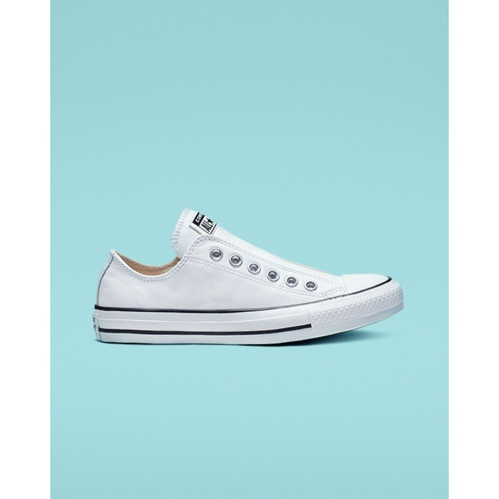 Mens Converse Chuck Taylor All Star Shoes White/Black 216POXMY