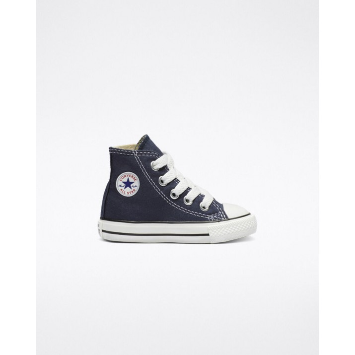 Kids Converse Chuck Taylor All Star Shoes Navy 220BHGGT