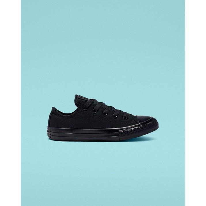 Kids Converse Chuck Taylor All Star Shoes Black 243KAQQB