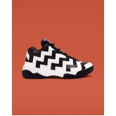 Zapatillas Converse Vltg Mid Mujer Negras/Blancas/Negras 267USZYD
