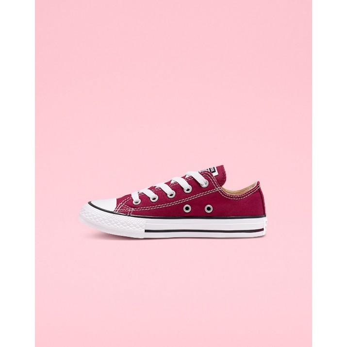 Kids Converse Chuck Taylor All Star Shoes Burgundy 282GYIXL