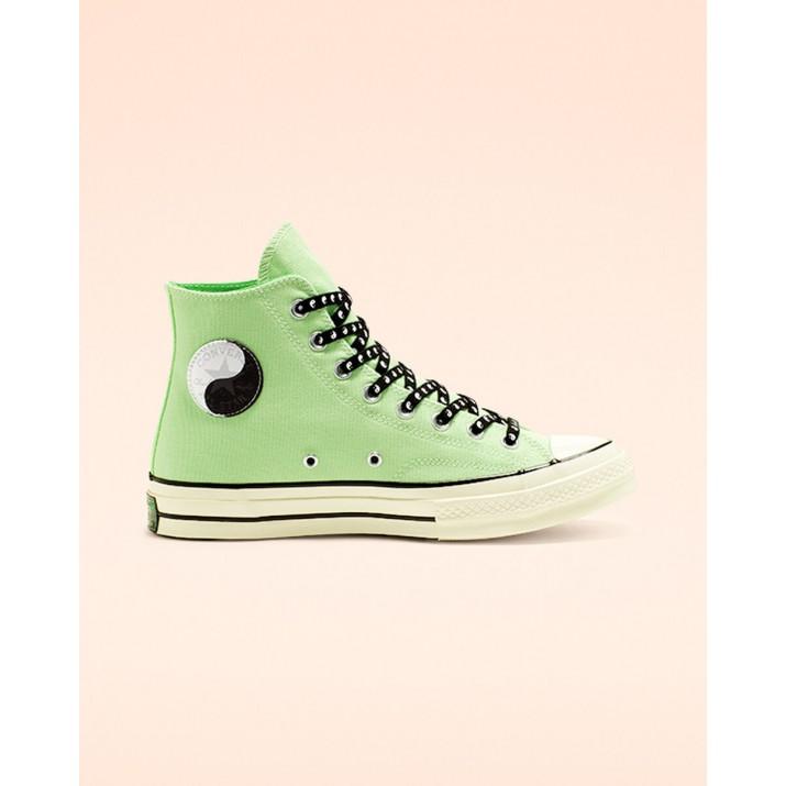 Zapatillas Converse Psy-kicks Chuck 70 Mujer Verde/Negras 298SVAAE