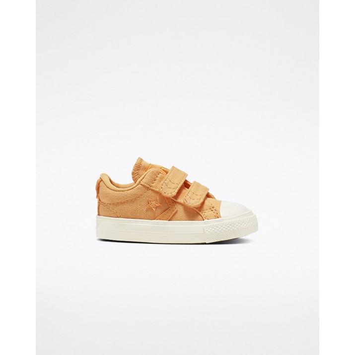 Kids Converse Star Player Shoes Brown 305ZEDPH