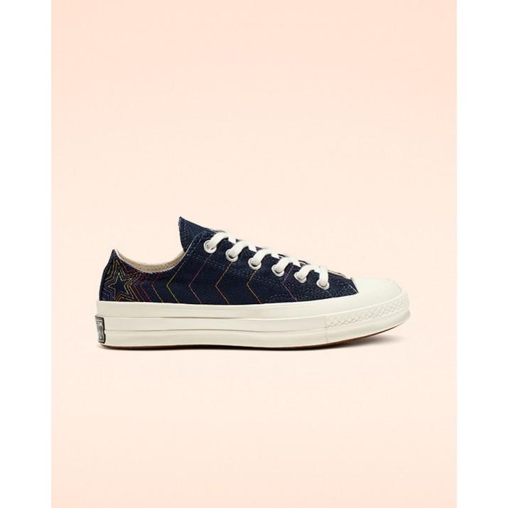 Womens Converse Chuck 70 Shoes Obsidian/Blue 312IACAE