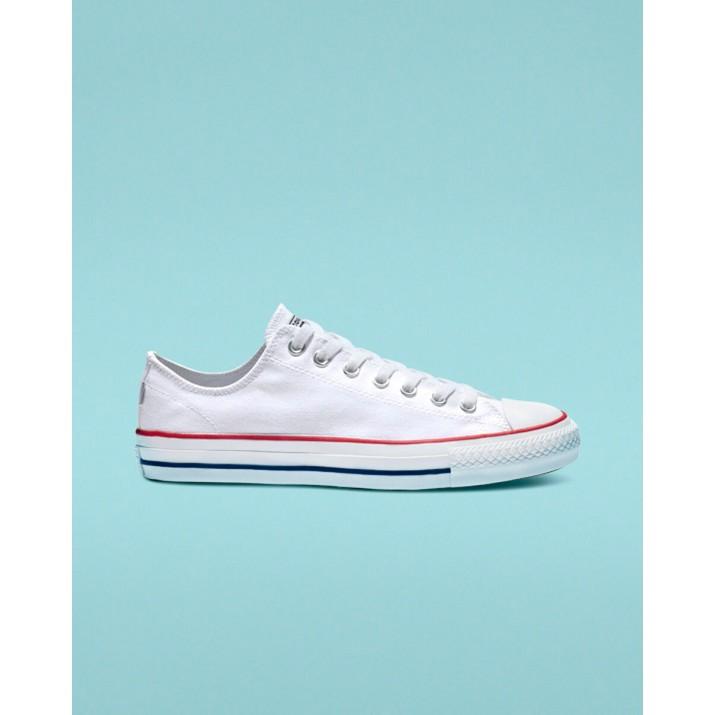 Zapatillas Converse Ctas Pro Hombre Blancas/Rojas/Azules 312PITJA