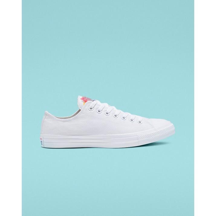 Zapatillas Converse Chuck Taylor All Star Mujer Blancas/Doradas/Blancas 337PTQFY