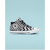 Womens Converse Chuck Taylor All Star Shoes White/Black/White 379CMUMT