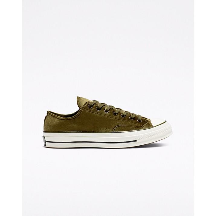 Mens Converse Chuck 70 Shoes Olive/Black 382RECKV