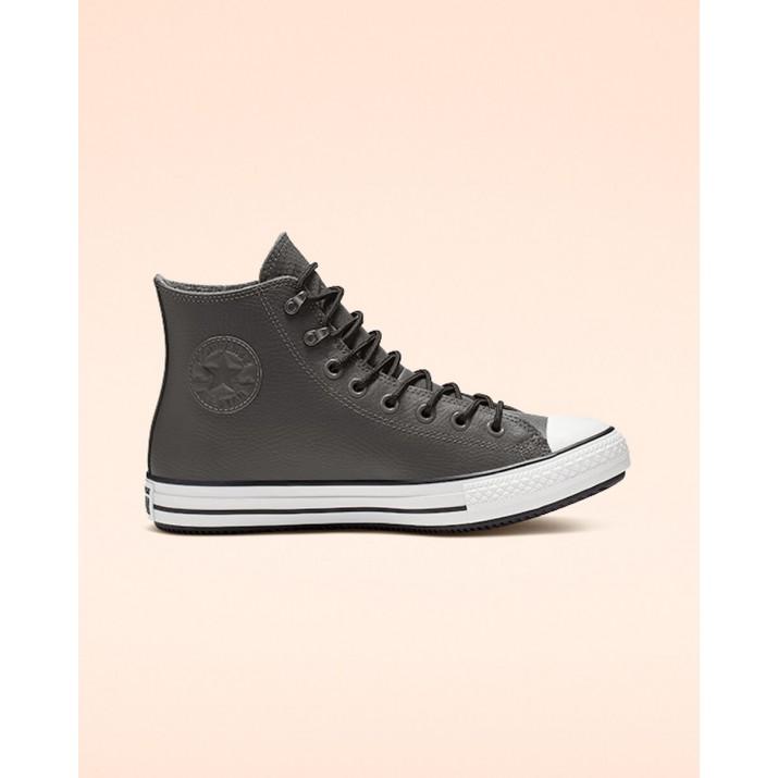 Mens Converse Chuck Taylor All Star Shoes Dark Grey/Black/White 390CDQVE