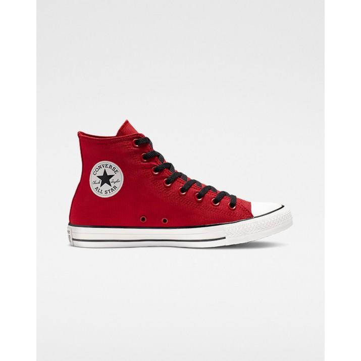 Mens Converse Chuck Taylor All Star Shoes Red/Black/White 402BHSGF