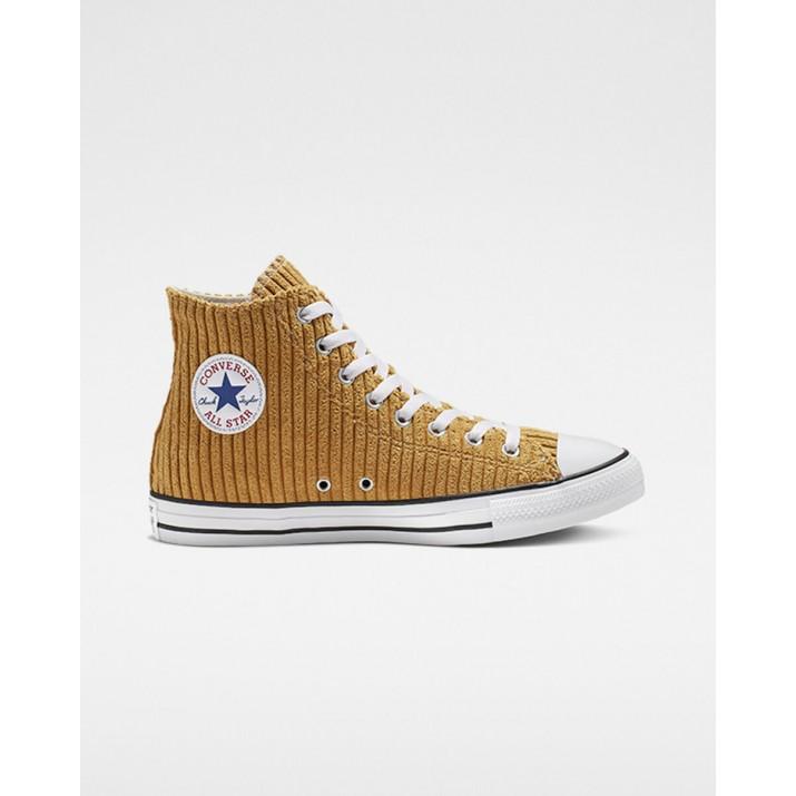 Womens Converse Chuck Taylor All Star Shoes Brown/White/Black 411ECQSC