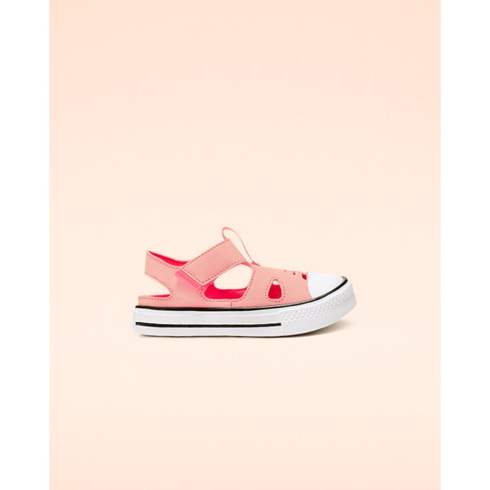 Kids Converse Chuck Taylor All Star Shoes Coral/Pink 434SHFFZ