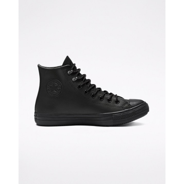 Mens Converse Chuck Taylor All Star Shoes Black/Black 443CCGNF