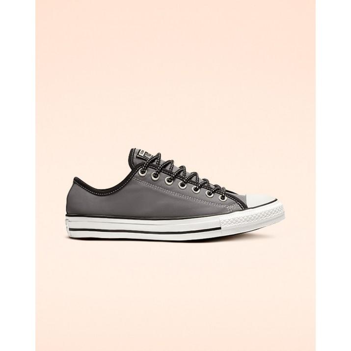 Womens Converse Chuck Taylor All Star Shoes Grey/Black/White 447JBJSD