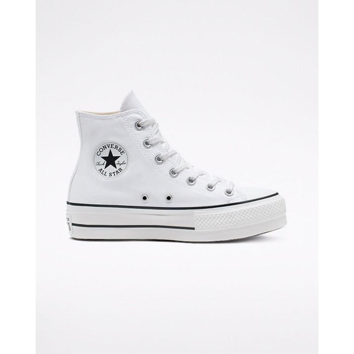 Zapatillas Converse Chuck Taylor All Star Mujer Blancas/Negras/Blancas 507VUOAV