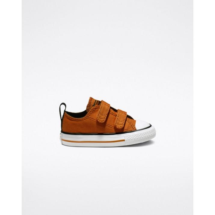 Zapatillas Converse Chuck Taylor All Star Niños Naranjas/Negras/Blancas 510FSZWJ