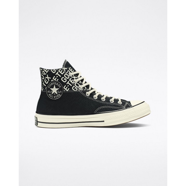 Mens Converse Chuck 70 Shoes Black 527OKQCW