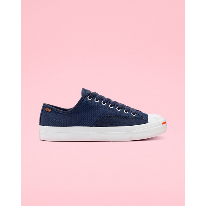 Zapatillas Converse Jack Purcell Mujer Obsidian Oscuro/Blancas 544ONXGL