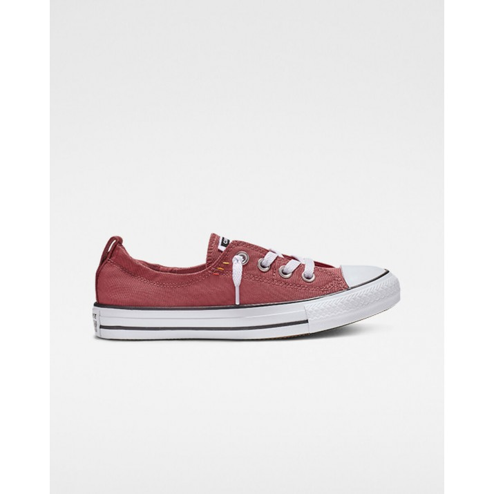 Converse Chuck Taylor All Star Womens Shoes Light Red/White/Black 565VRMYK