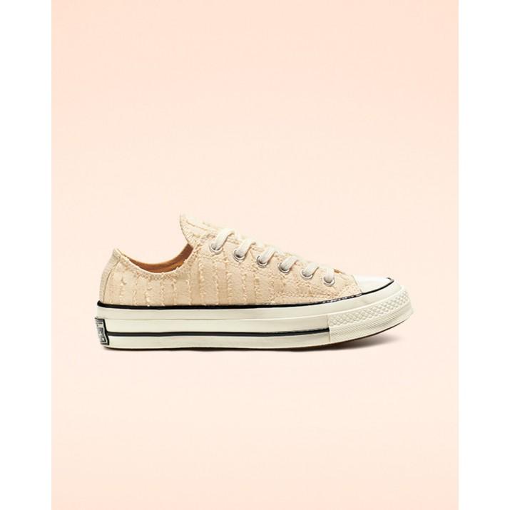Womens Converse Chuck 70 Shoes Beige White/Gold 576XPZNZ