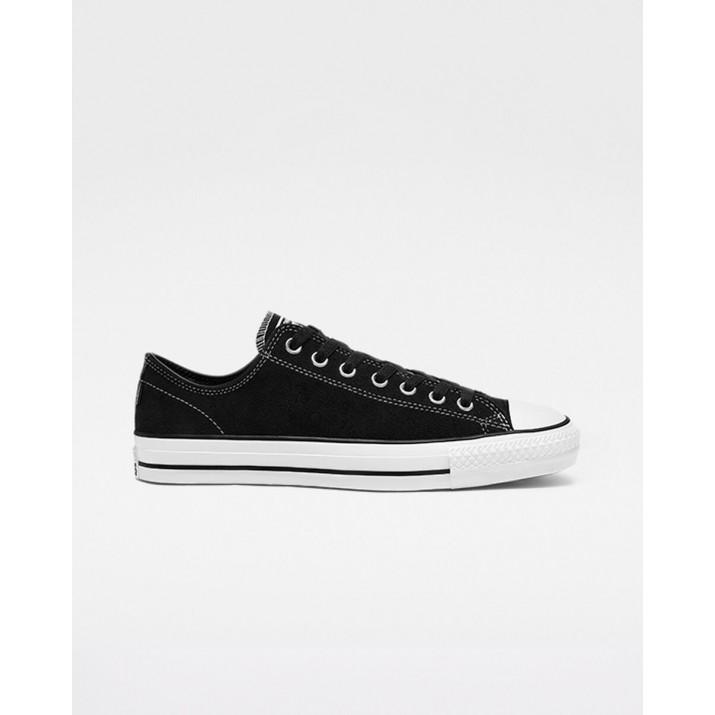 Mens Converse Ctas Pro Shoes Black/White 582GJWIL