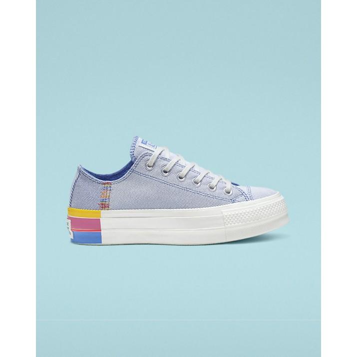 Womens Converse Chuck Taylor All Star Shoes Blue/White 599JAOAK