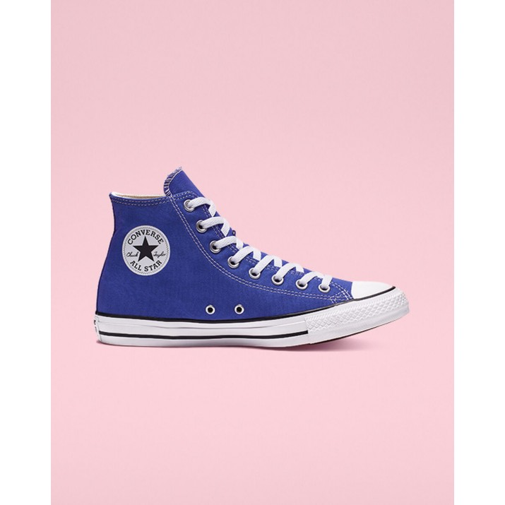 Womens Converse Chuck Taylor All Star Shoes Royal 631FPWLG