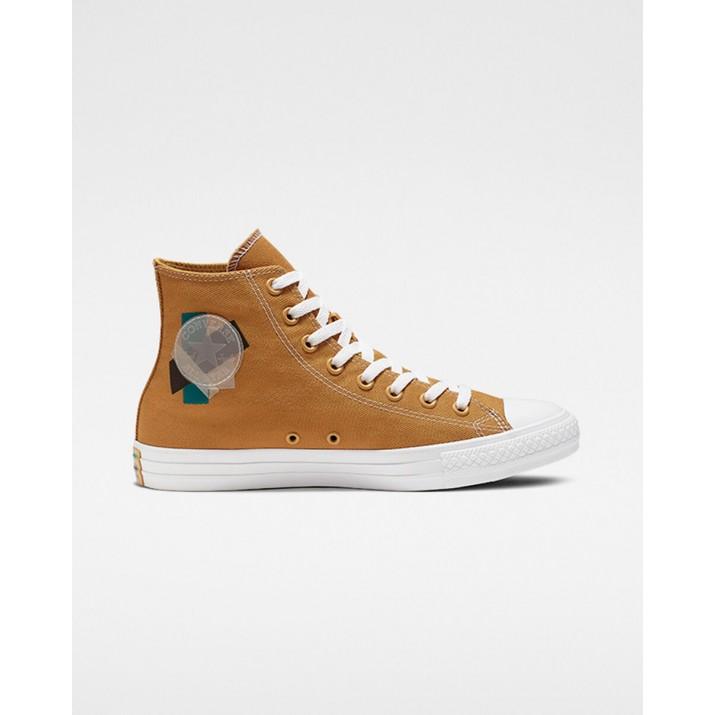 Converse Chuck Taylor All Star Mens Shoes Brown/Green/White 638HSMTB
