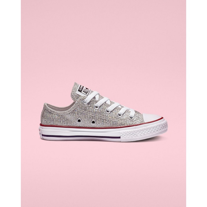 Kids Converse Chuck Taylor All Star Shoes Red/White 700LIZIJ