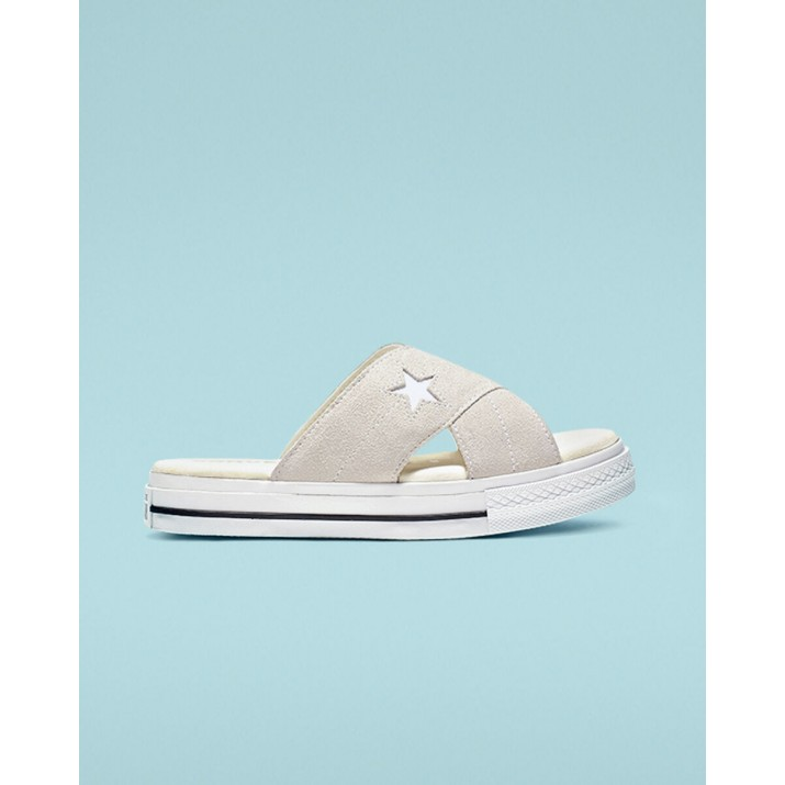 Converse One Star Womens Shoes White 727UCOML