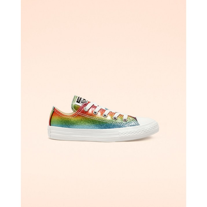 Kids Converse Chuck Taylor All Star Shoes White/Pink 744NYKUV