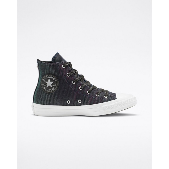 Womens Converse Chuck Taylor All Star Shoes Black/Pink/Silver 777XNMZO