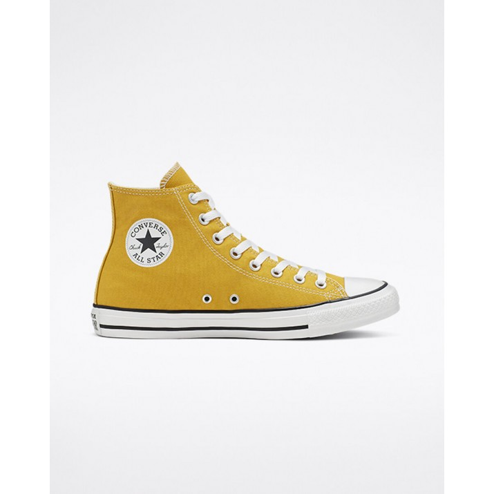 Mens Converse Chuck Taylor All Star Shoes Gold 798DSPKB
