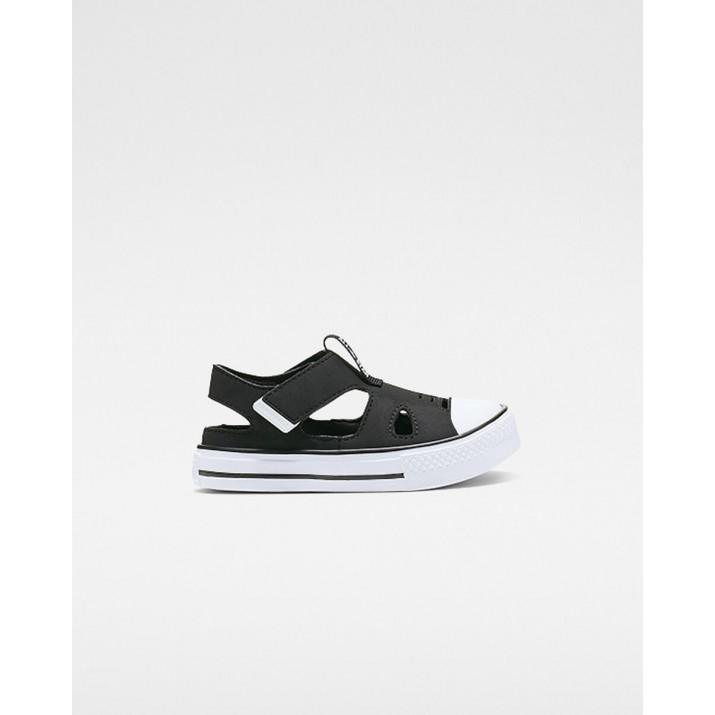 Kids Converse Chuck Taylor All Star Shoes Black/White 835NWOZU