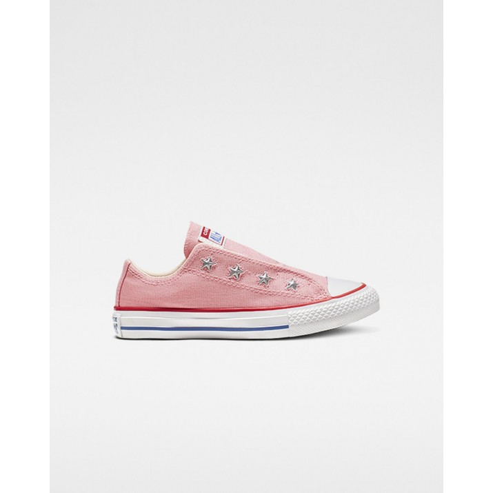 Kids Converse Chuck Taylor All Star Shoes Pink/Red 835WPMLK