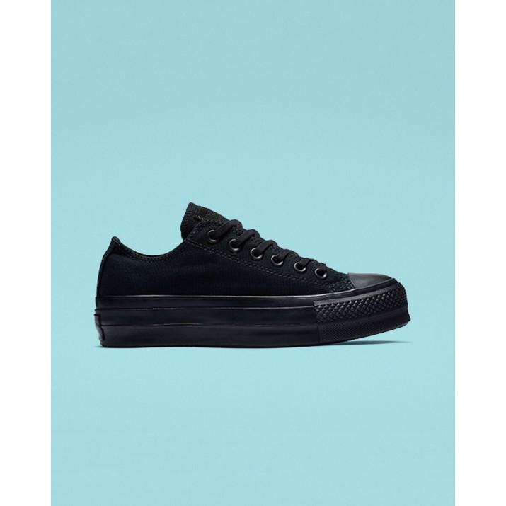 Womens Converse Chuck Taylor All Star Shoes Black/Black 838VEEDV