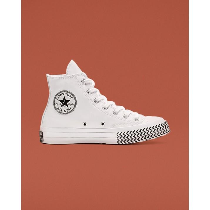 Zapatillas Converse Chuck 70 Mujer Blancas/Negras/Blancas 848OEYTJ