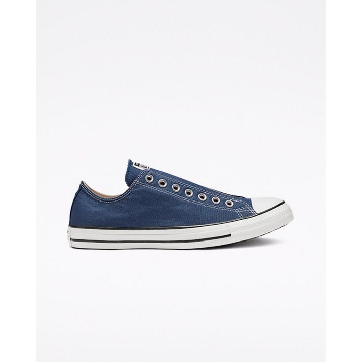 Zapatillas Converse Chuck Taylor All Star Mujer Azul Marino/Negras/Blancas 890DVJNG